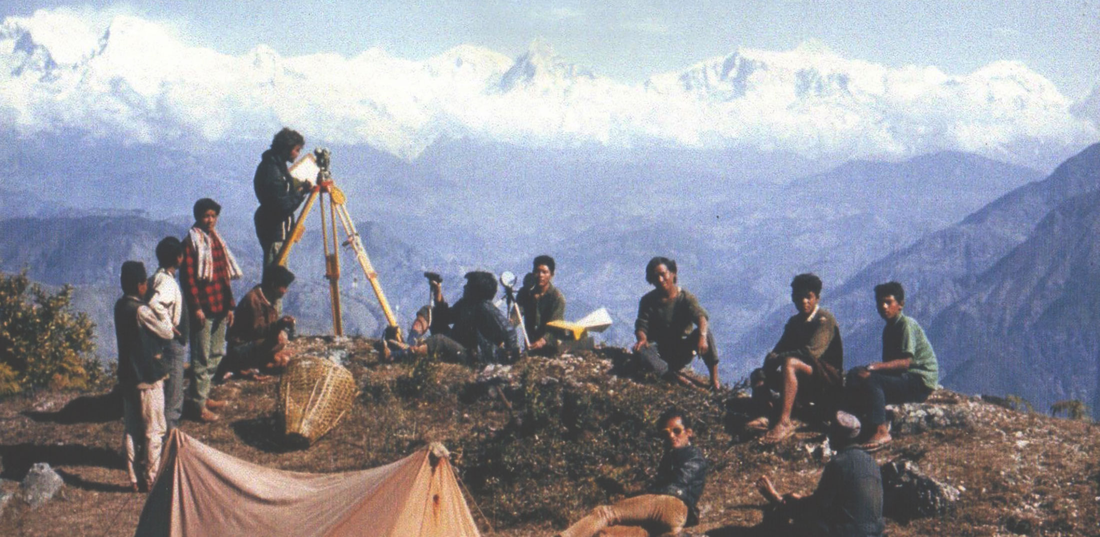 Surveying from Cooma to Nepal and beyond