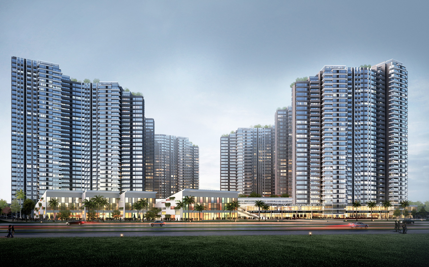 Baoshan Housing Project China