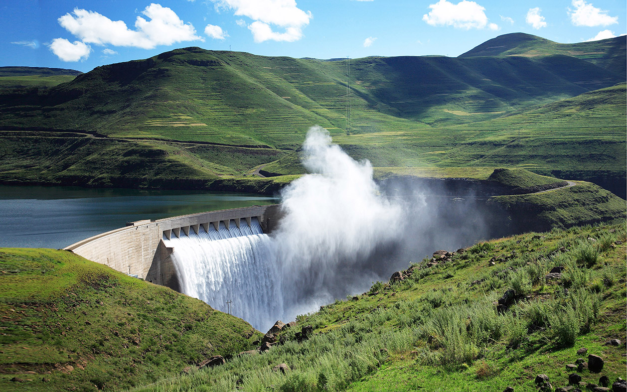 Engineering achievement of the century: Lesotho Highlands Water Project